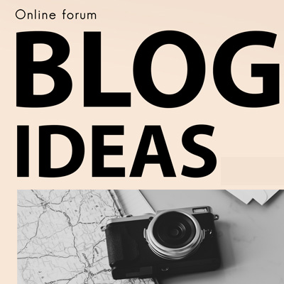 blog and forum creation